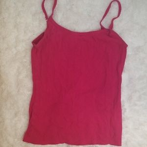 Heart stitched cami